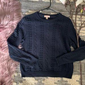 Brooks Brothers▪️Pom pom Crew Sweater. M
